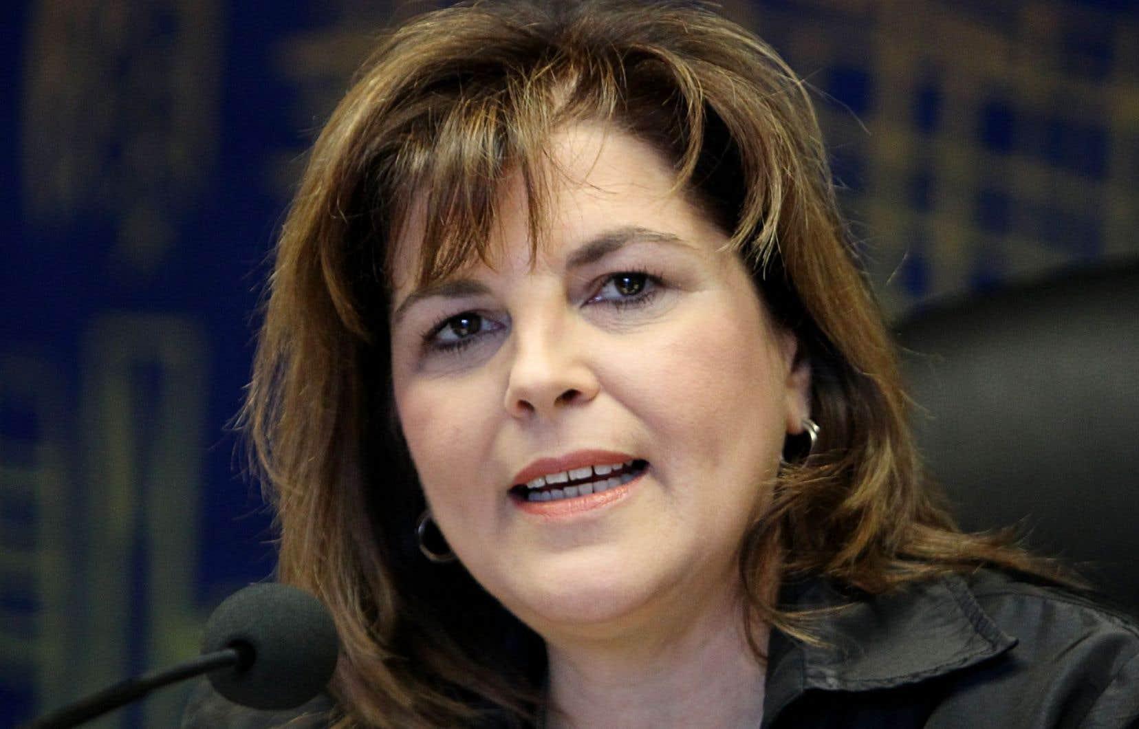 La présidente-directrice générale de la Commission de la construction du Québec, Diane Lemieux