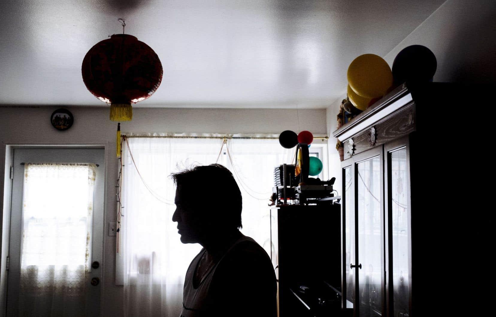 Les réfugiés de la ville de Québec sont actuellement logés dans un motel jusqu'à ce qu'ils puissent s'installer dans un appartement.