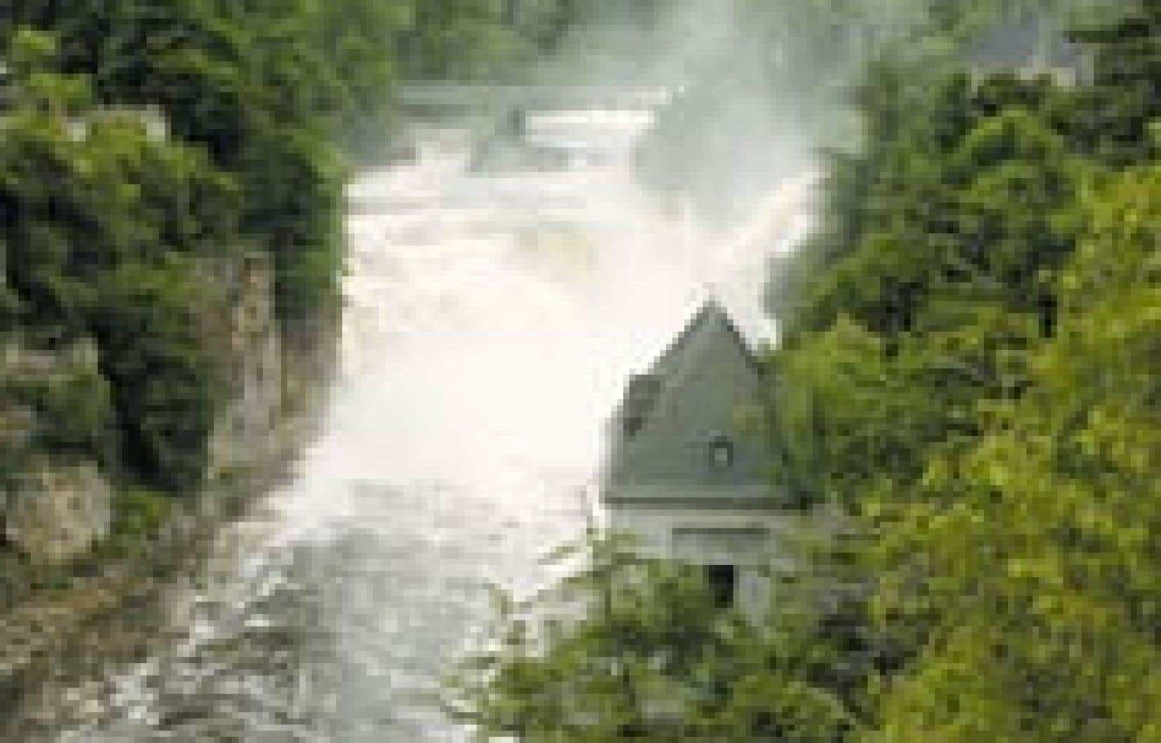 La rivière Ausable. — Photo Hélène Clément
