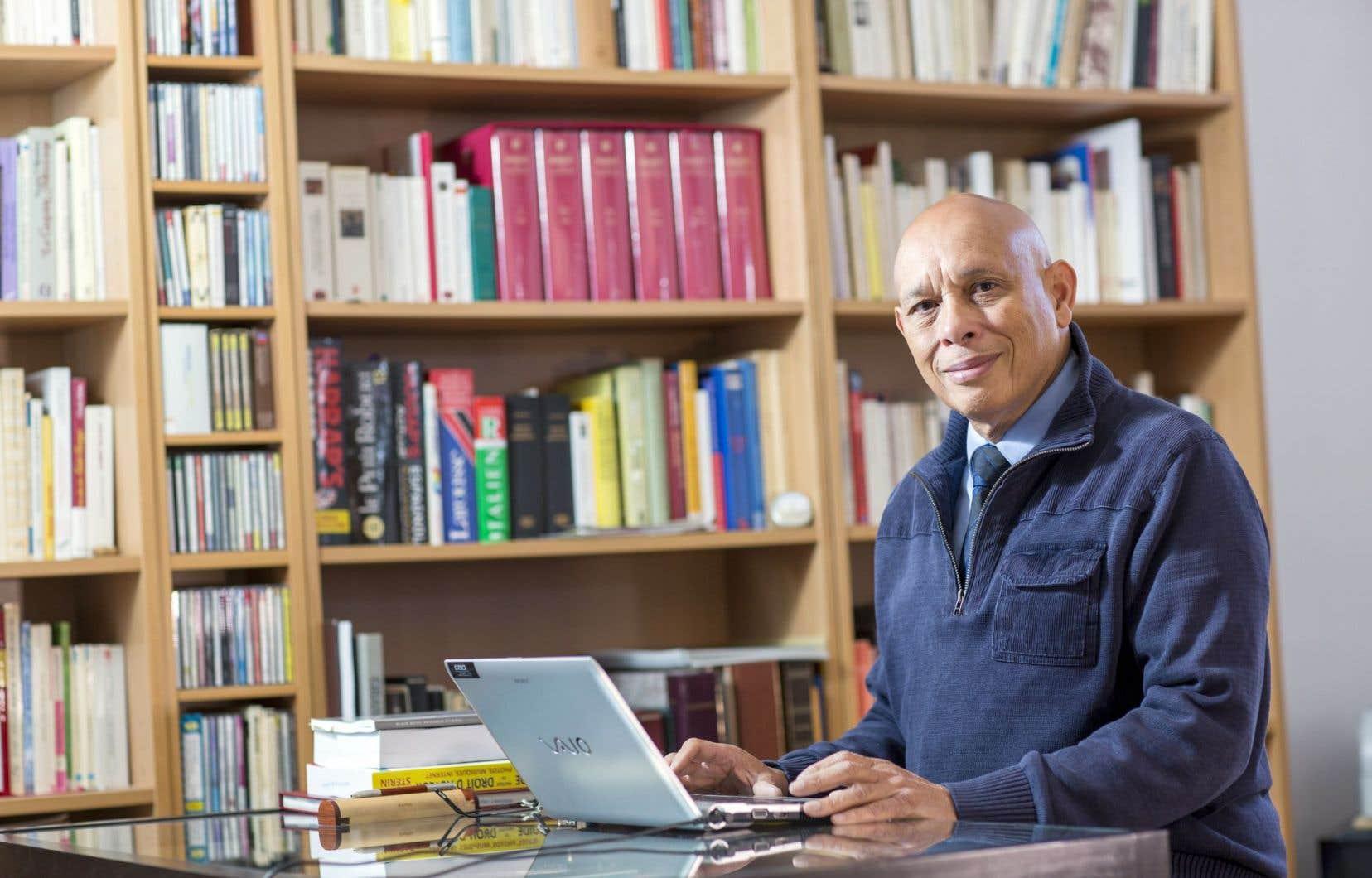 «J'ai voulu relever le défi de donner une idée, au moins de synthèse, de toutes les sphères qui me sont connues», explique Claude Dauphin.