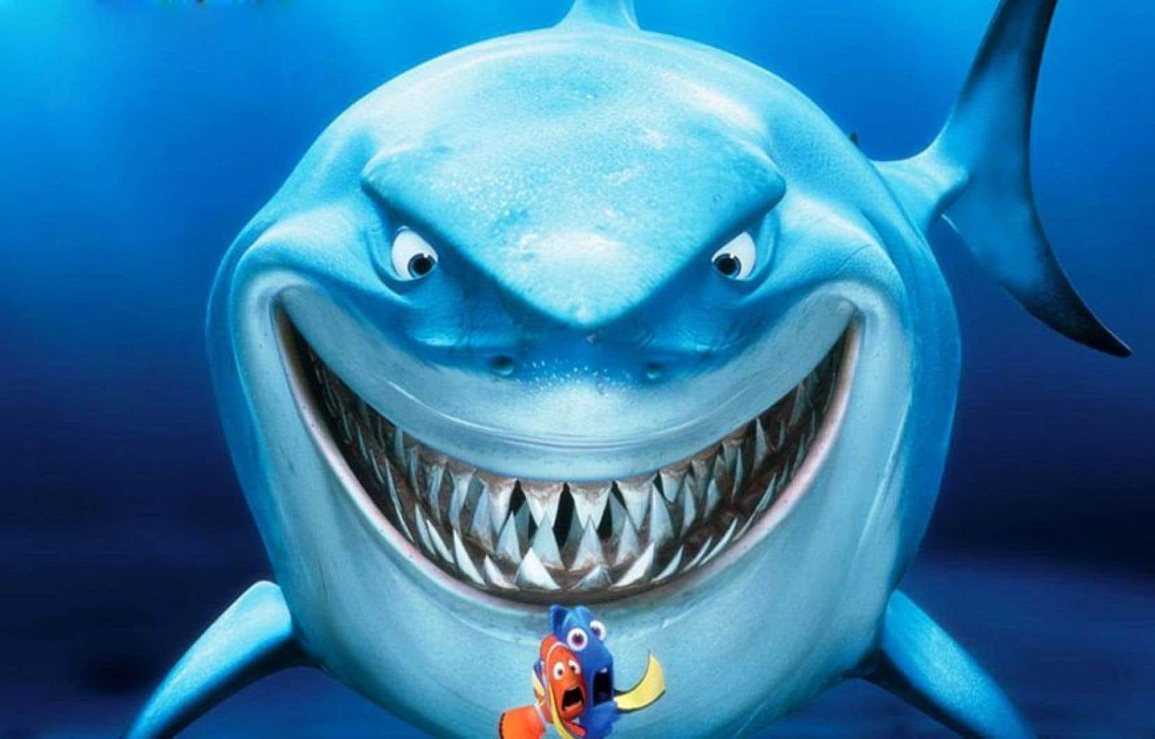 Scène du film d'animation <em>Finding Nemo</em> (2003) réalisé par Andrew Stanton.