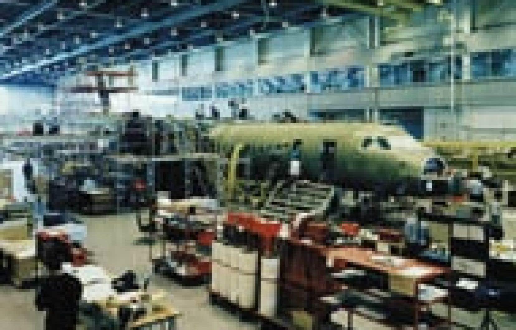Source Bombardier Aéronautique La structure de financement dont il est question couvre 70 appareils régionaux, dont 65 biréacteurs CRJ et cinq turbopropulseurs Q400.