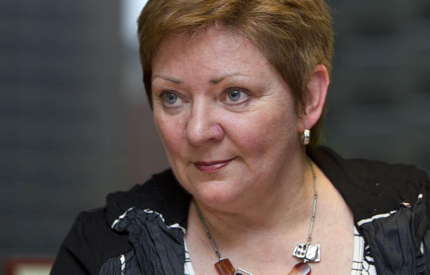 Diane Lavallée, directrice générale de l'Association québécoise d'établissements de santé et de services sociaux