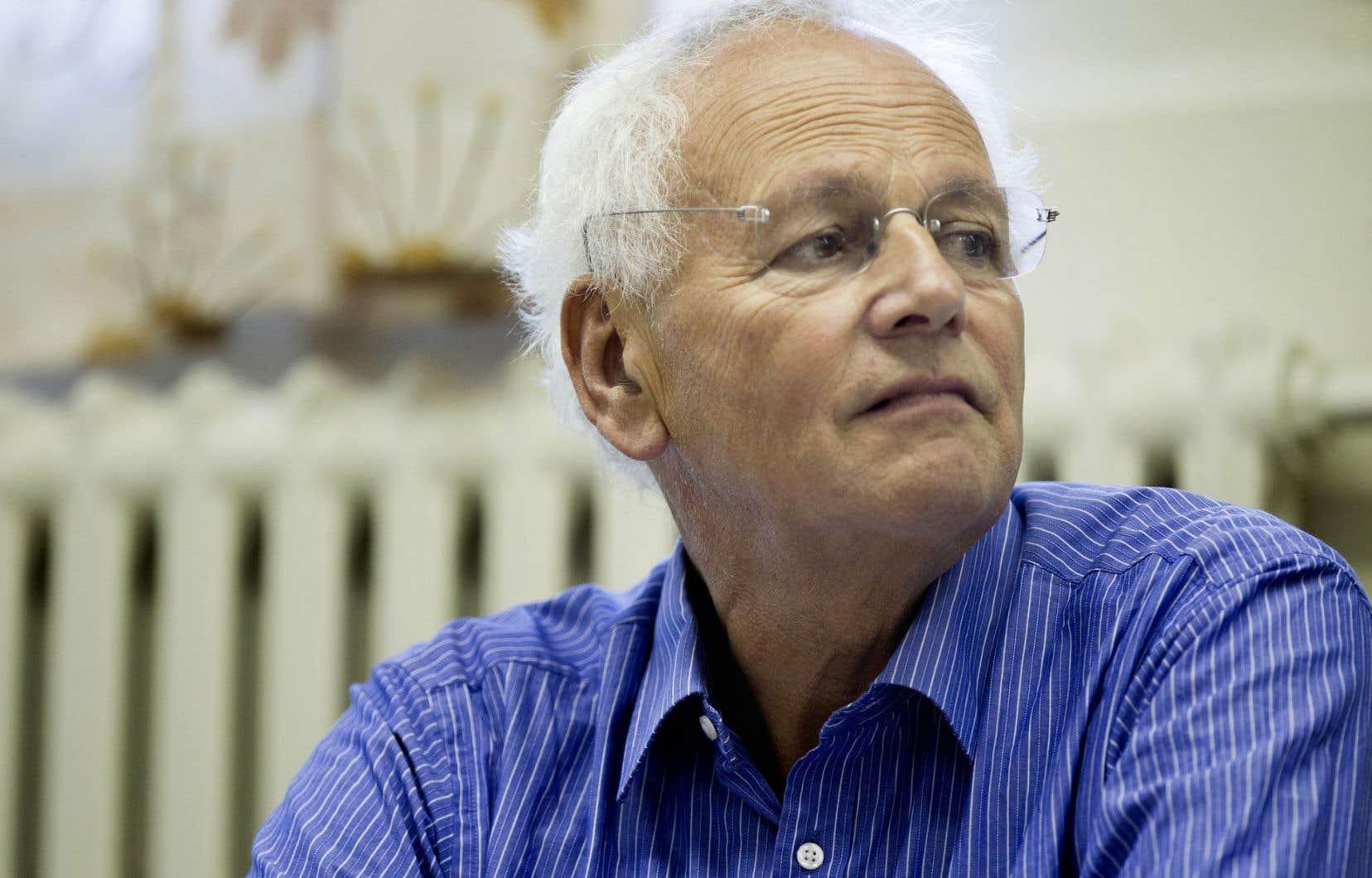 Le défenseur britannique de la formation des adultes, Alan Tuckett