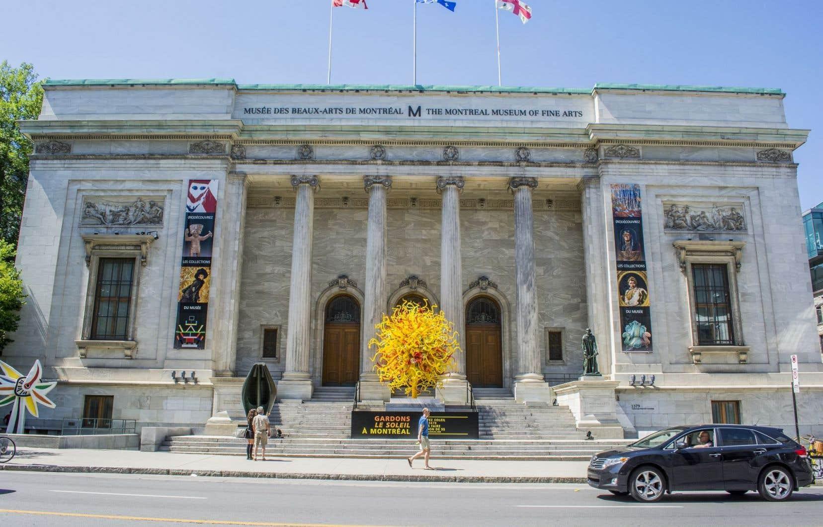 700 jeunes gens d'affaires ont convergé jeudi soir au Musée des beaux-arts de Montréal pour lancer une campagne toute spéciale.
