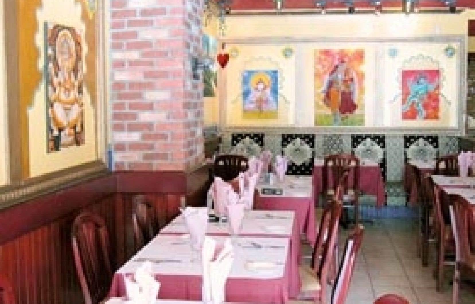 Le restaurant Taj Mahal, une des meilleures tables, sinon la meilleure pour la cuisine indienne à Québec.