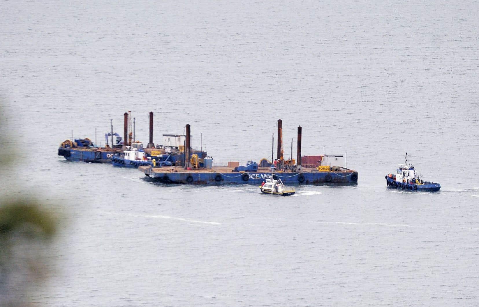 Même si les travaux préliminaires en milieu marin de TransCanada n'ont pas pu être complétés, les documents officiels déposés jeudi précisent les détails du projet.