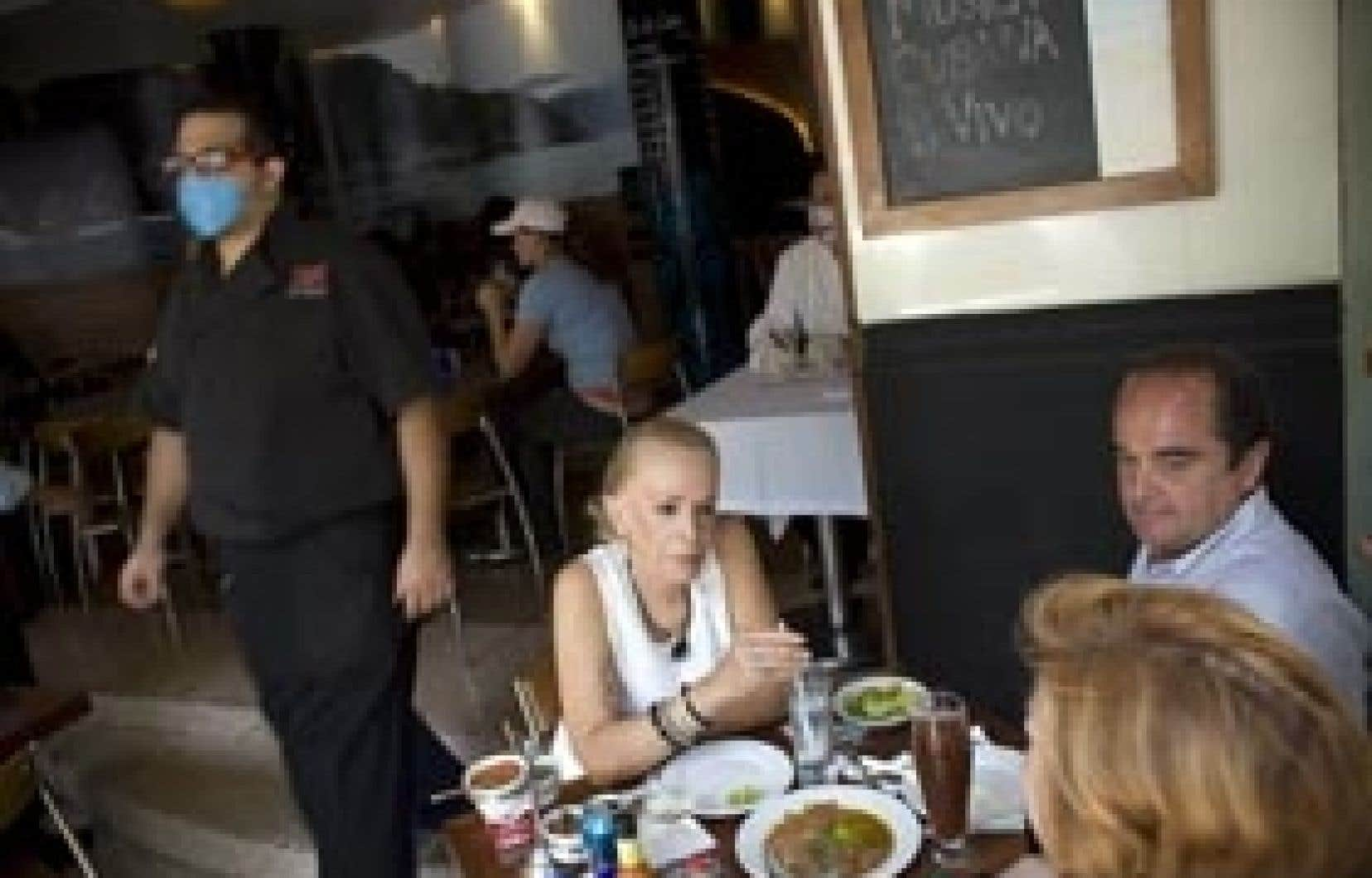 Les Mexicains ont recommencé à fréquenter les restaurants.