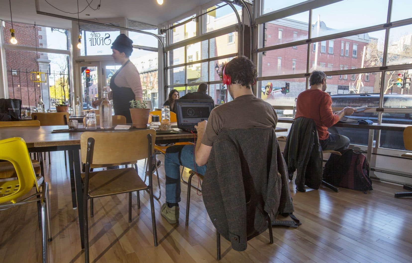 La propriétaire du café Sfouf, Gaby Kassas, avait déjà le local dans sa mire quand elle a choisi de s'établir dans le Centre-Sud. La consultation populaire, menée par Potloc, a vraiment confirmé qu'elle avait fait le bon choix.