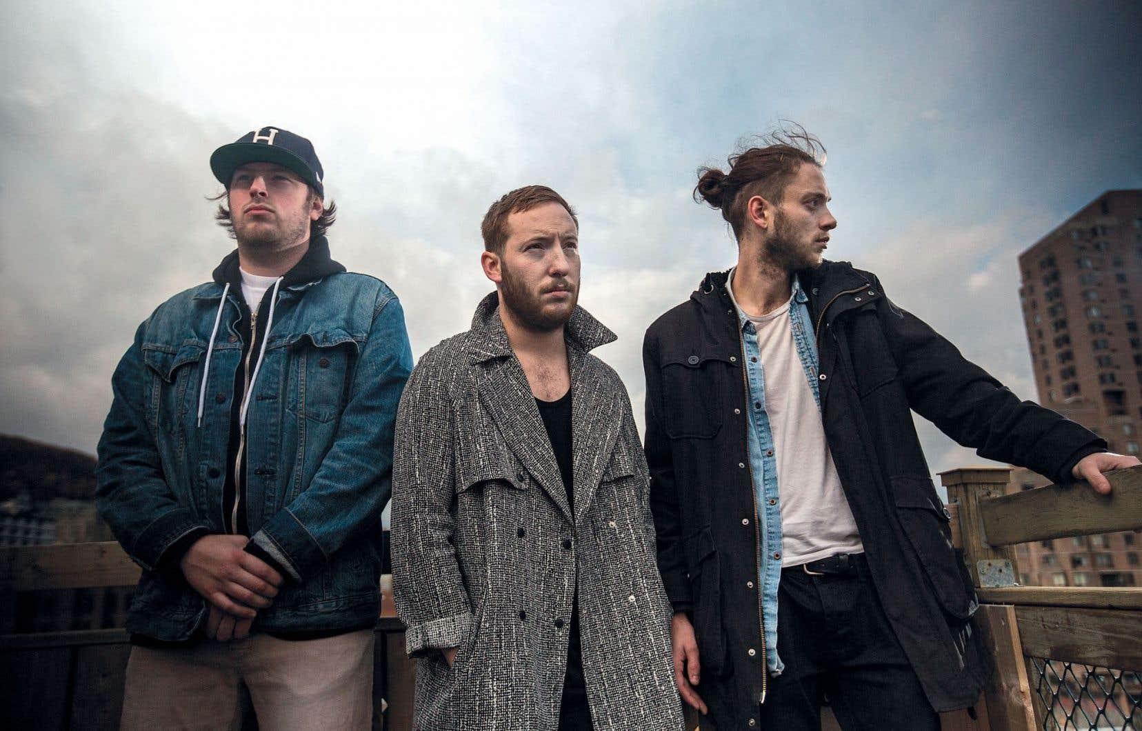 Le trio montréalais Loud Lary Ajust fait partie du Rap Queb Money Tour qui s'amorce ce mercredi.