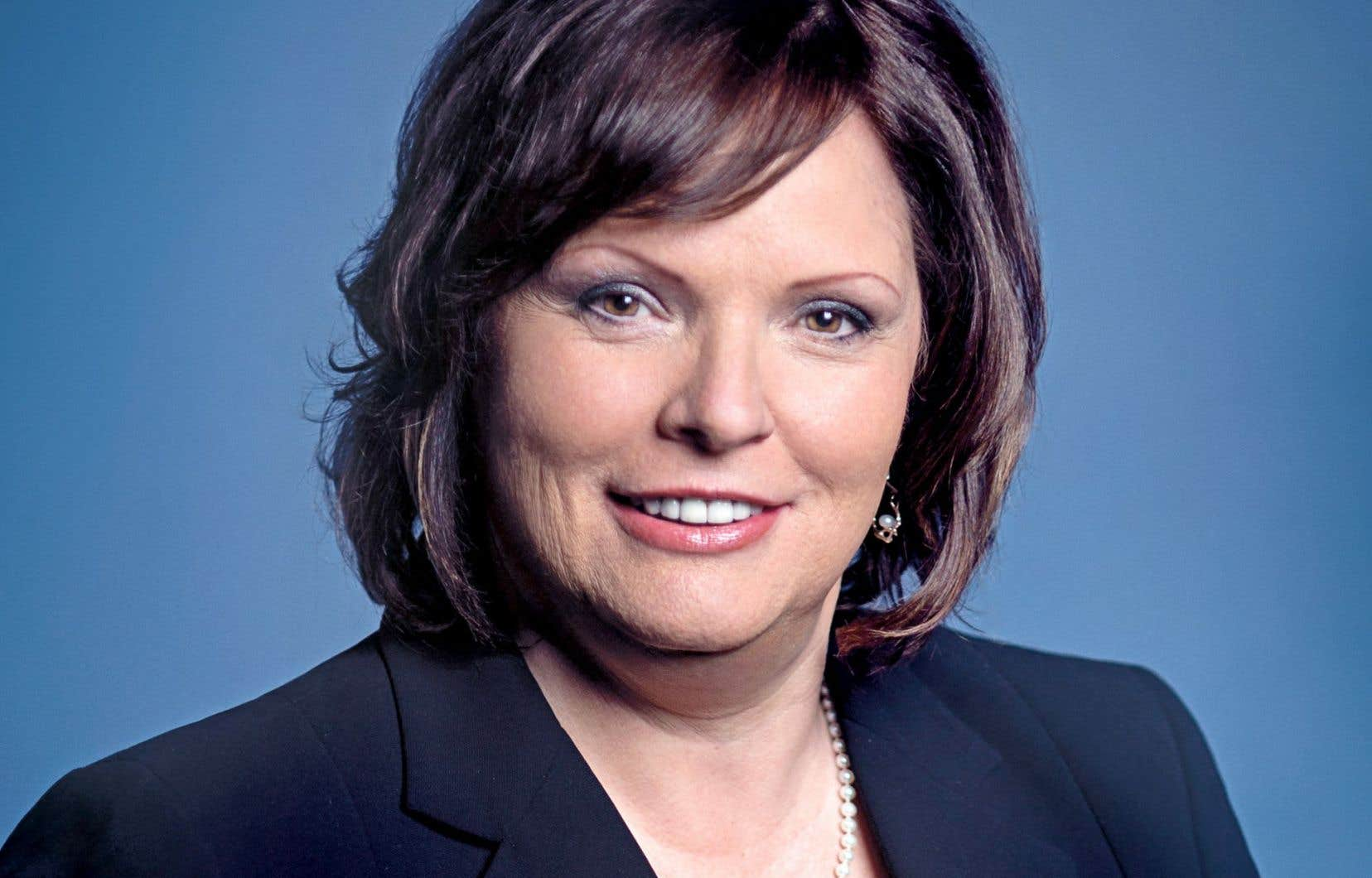 La ministre déléguée à la Santé publique, Lucie Charlebois