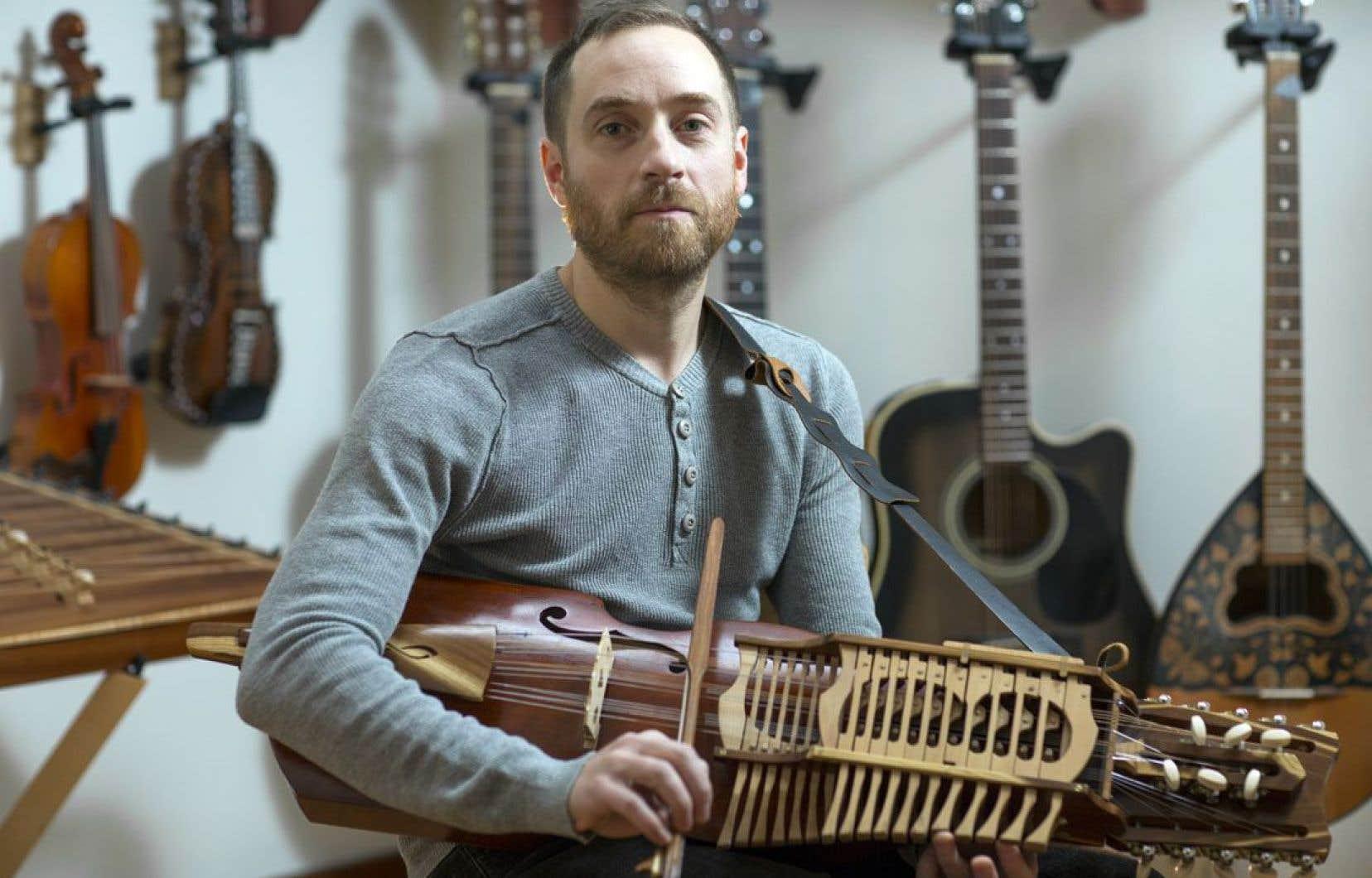 Jean-François Bélanger concocte une musique puissante, portée par les sons des traditions scandinaves.