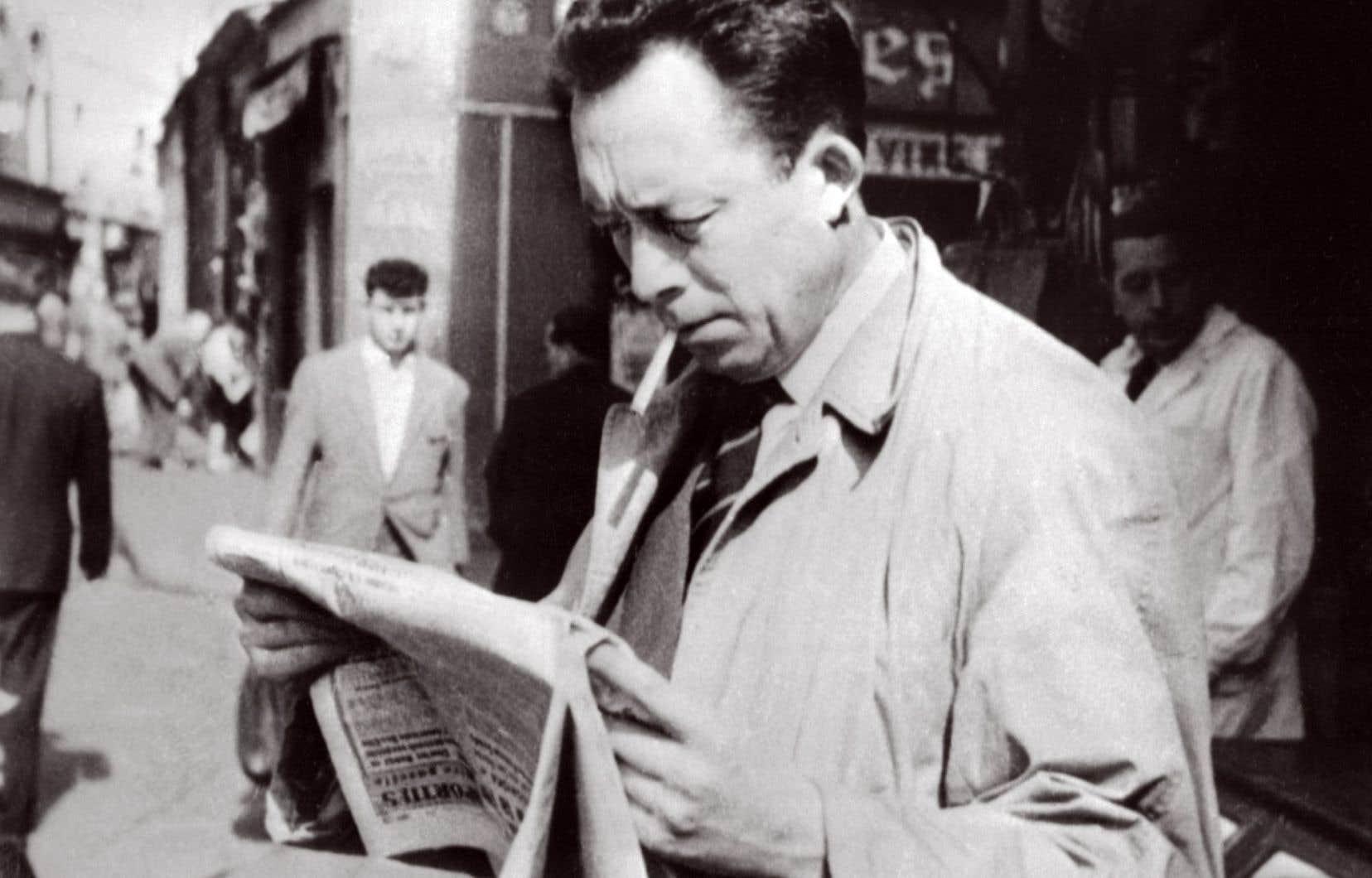 L'auteur de «L'étranger» et Prix Nobel en 1953, à Paris