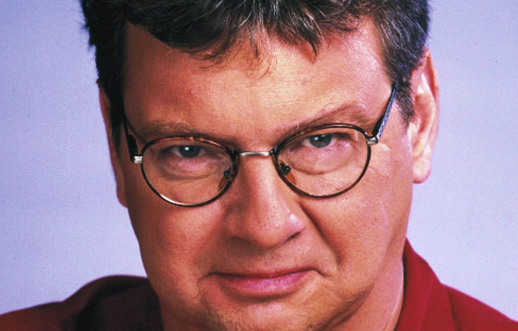 Jacques Bertrand a été au micro de Radio-Canada pendant 32ans.