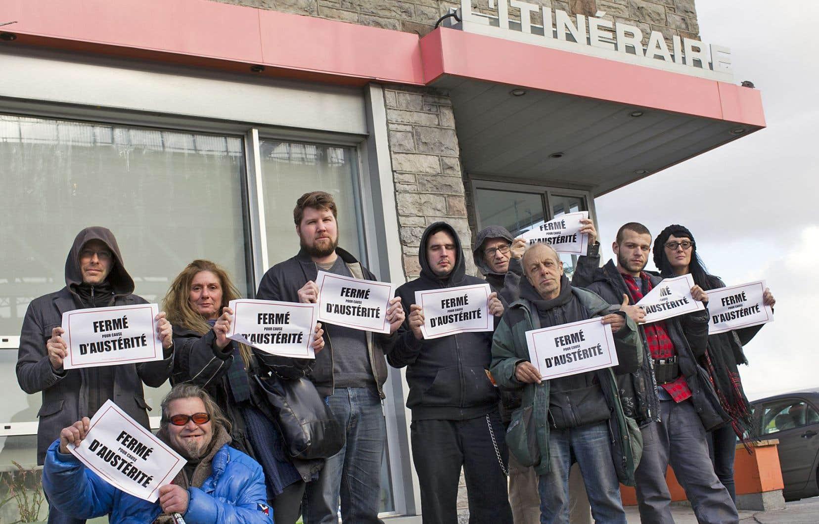 Des centaines d'organismes communautaires fermeront leurs portes lundi pendant 225 minutes, pour dénoncer leur sous-financement et les politiques d'austérité de Québec.