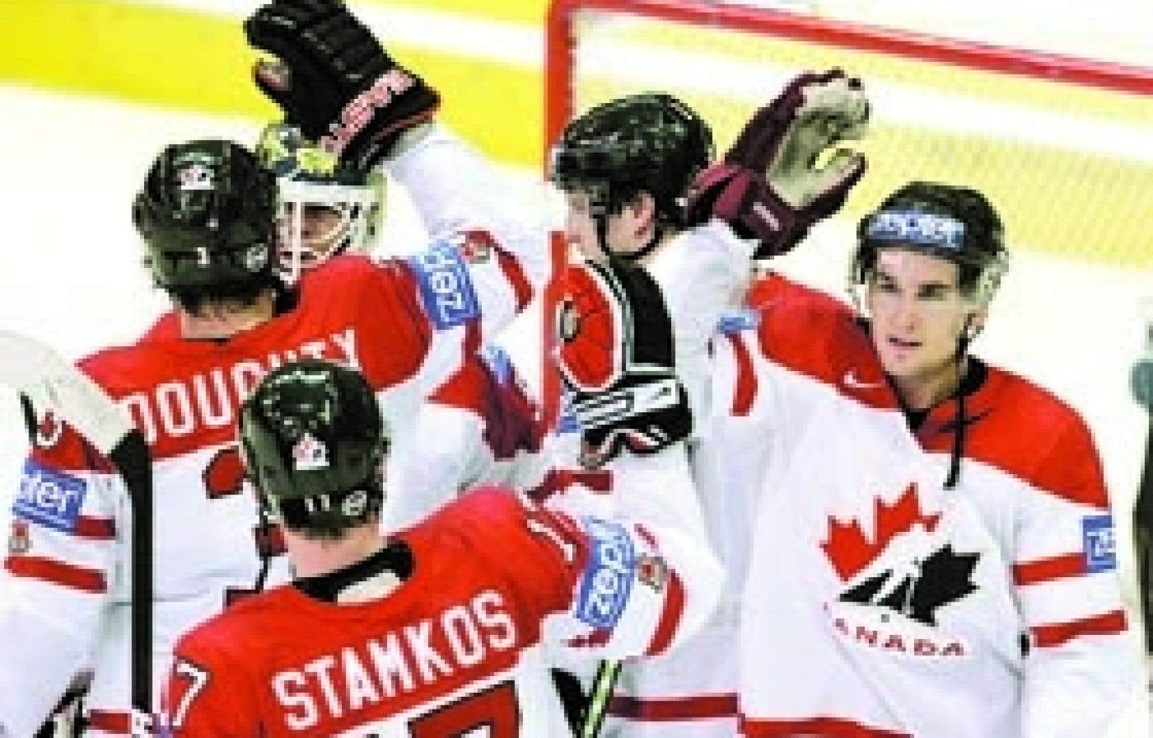 Jusqu'ici dans le tournoi, le Canada a réussi 32 buts.