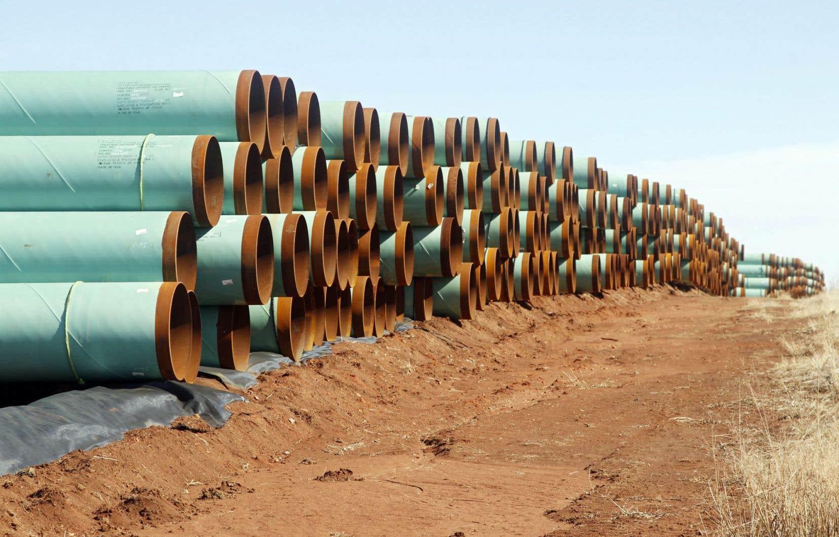 TransCanada cherche à désenclaver le pétrole albertain par divers projets de pipeline, dont Énergie Est et Keystone XL.