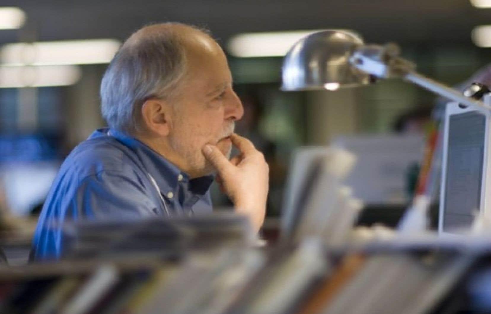 Le journaliste Louis-Gilles Francoeur<br />
