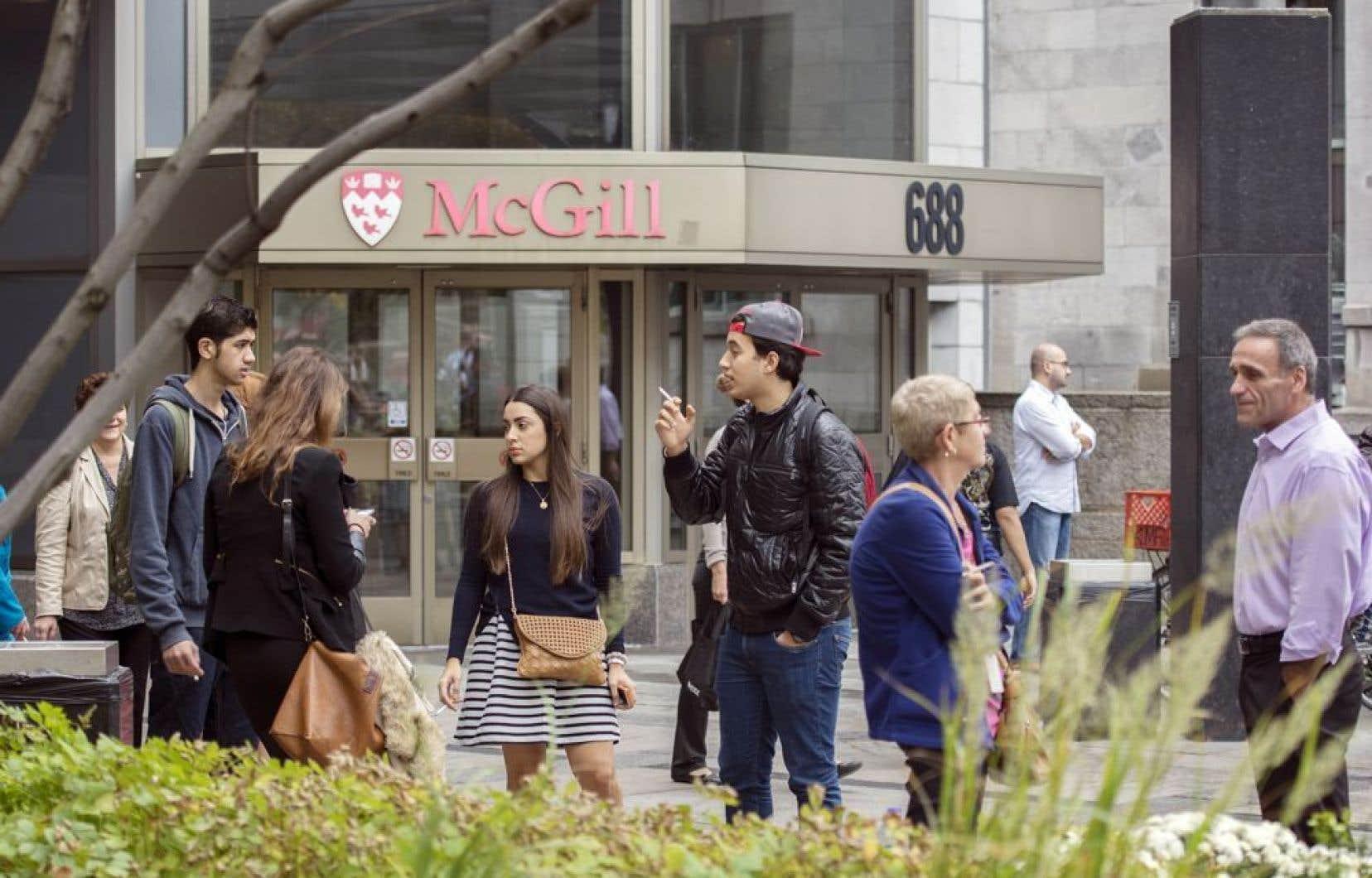 Le gouvernement libéral a déjà demandé aux universités des compressions budgétaires de 172M$ pour l'année 2014-2015.