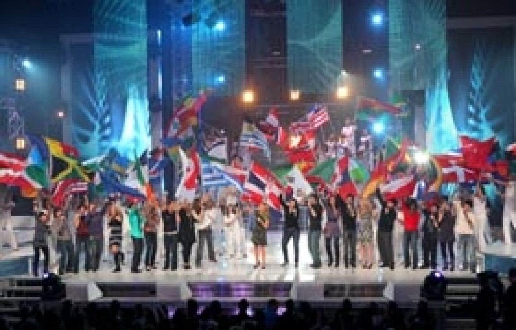 Le lancement de l'édition 2009 de Star Académie. L'émission est responsable de la quasi-totalité de l'augmentation des revenus publicitaires de TVA.