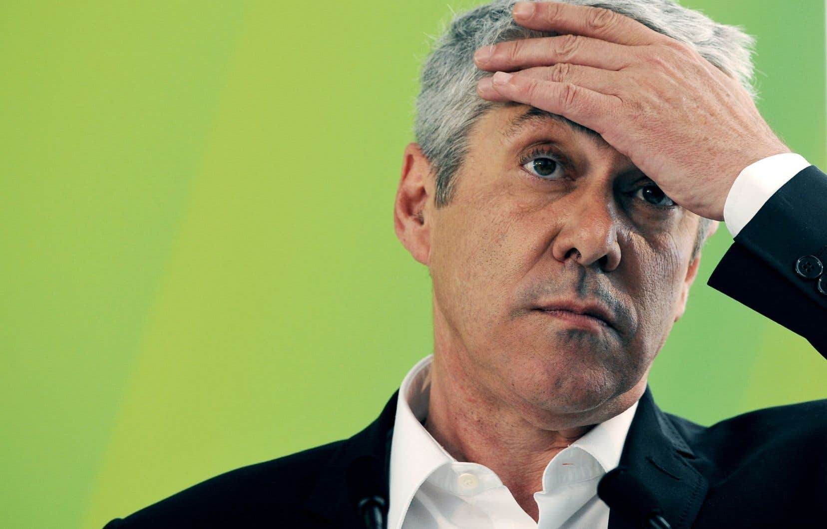 José Socrates durant la campagne électorale de 2011