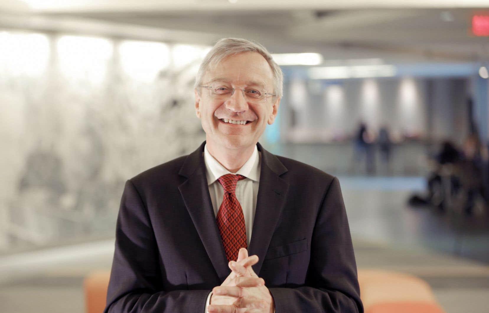 L'administrateur de l'Organisation internationale de la Francophonie, Clément Duhaime