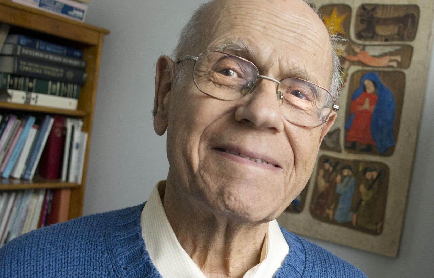 Gregory Baum, 91ans, est théologien et militant de Québec solidaire.