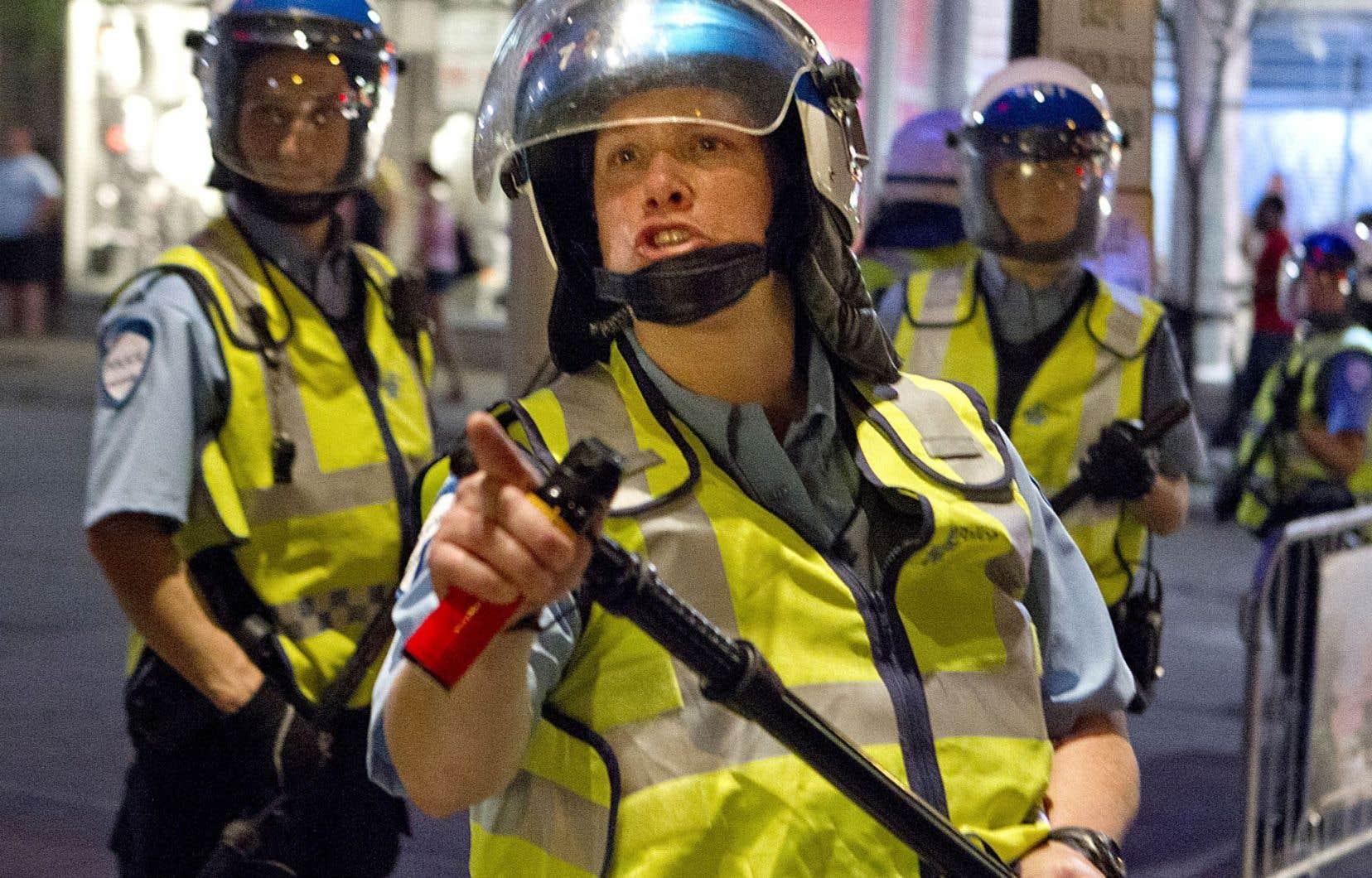 La policière Stéfanie Trudeau, alias «matricule 728», a été accusée de voies de fait après une intervention musclée en 2012.