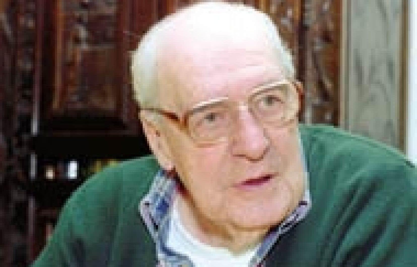 Gérard Filion en 1999: «Il n'y a jamais trop d'information: on choisit, on n'est pas obligés de tout gober.»