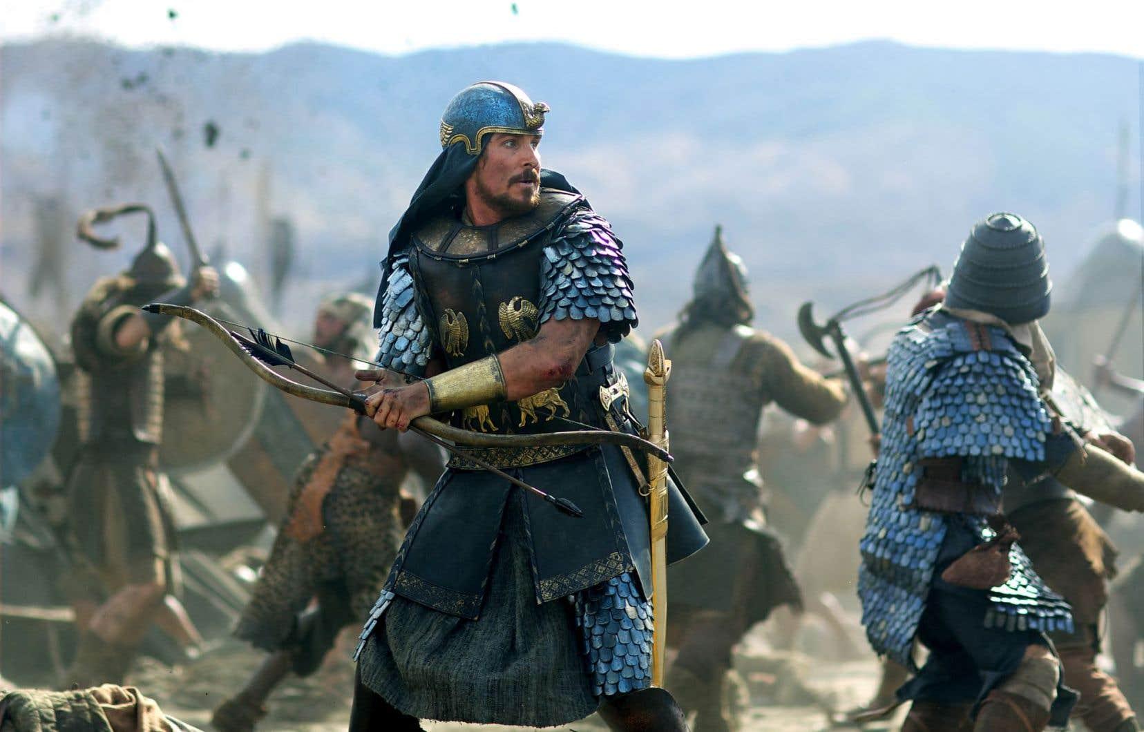Moïse, incarné par Christian Bale (jouant Christian Bale), et le chemin jusqu'aux dix commandements constituaient un sujet tout désigné pour le réalisateur Ridley Scott.