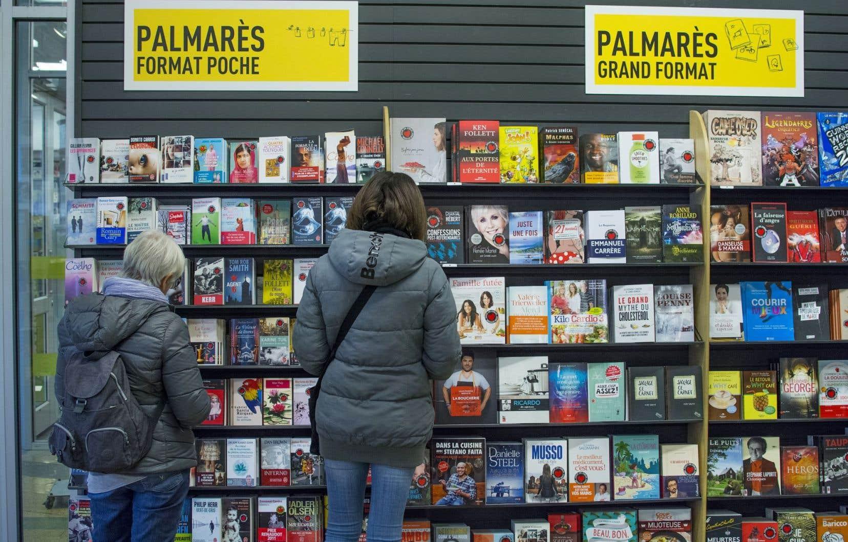 Sur une base individuelle, les ventes annuelles de livres par habitant atteignaient 54 $ en 2013.