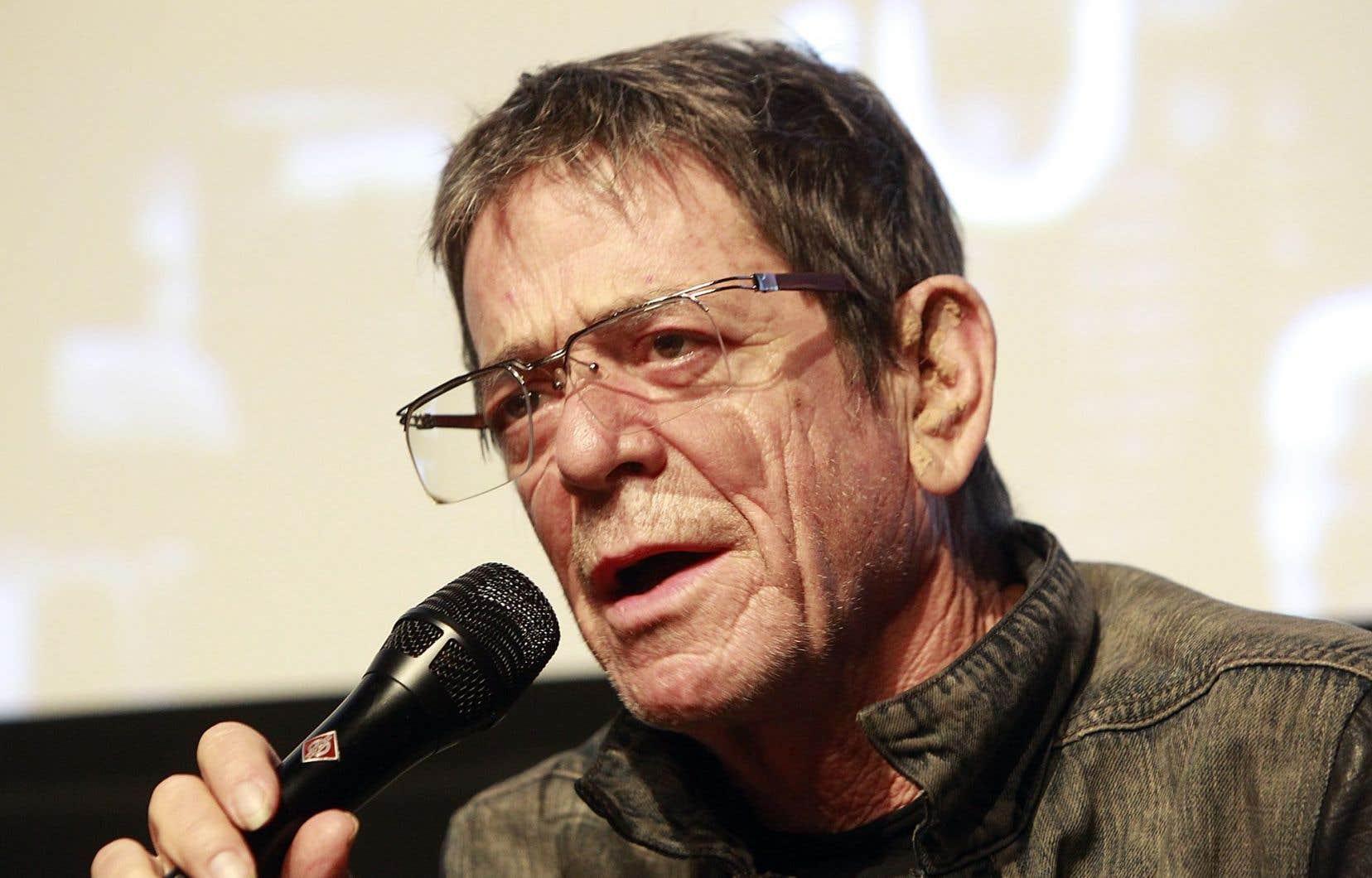 Lou Reed croqué par le photographe du<em> Devoir</em> lors de son dernier passage à Montréal, dans le cadre du Festival de Jazz de Montréal 2010.