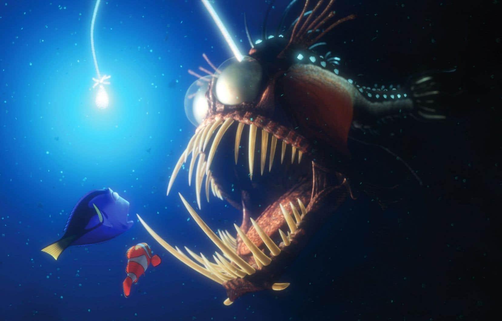 Les dangers marins sont nombreux et brutaux dans le film «Trouver Nemo».