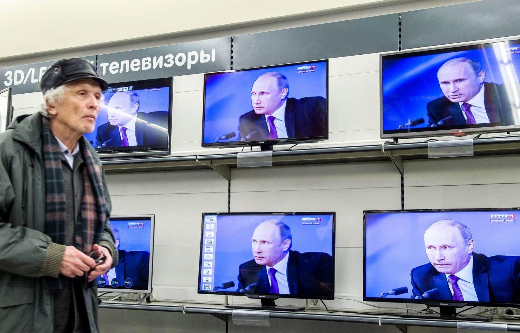 Comme chaque année, Vladimir Poutine a répondu cette semaine aux questions de la population lors d'une émission télé.