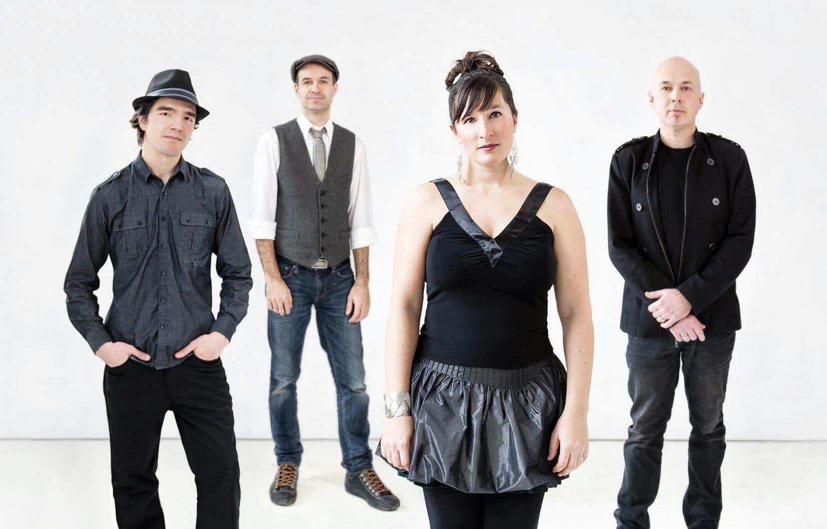 Ce premier disque du groupe montréalais Mélisande marque une nouvelle étape du trad québécois.