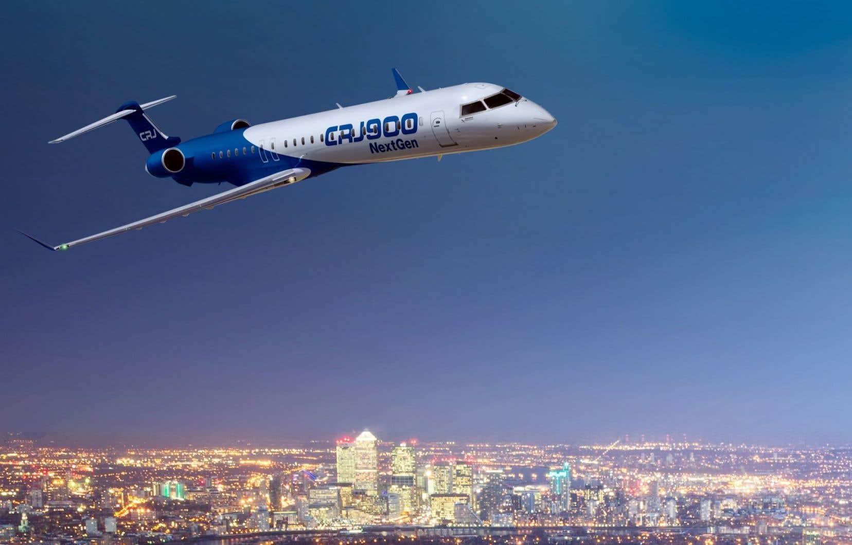 Le CRJ900 NextGen est l'une des versions les plus longues et les plus récentes des jets régionaux que Bombardier assemble dans la région de Montréal.