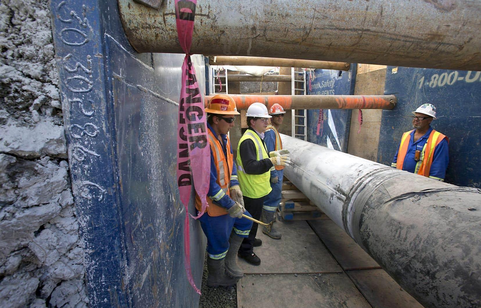 L'autorisation de l'inversion du flux dans l'oléoduc 9B d'Enbridge est toujours contestée par la Communauté métropolitaine de Montréal.