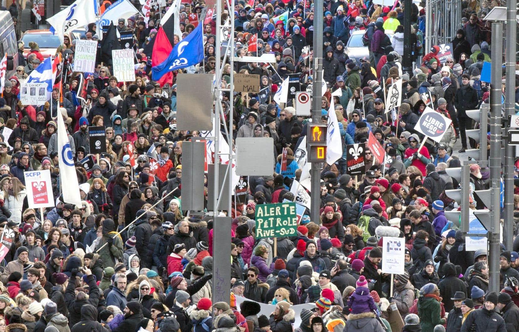 Les offres de Québec aux fonctionnaires comprennent des demandes multiples et costaudes.