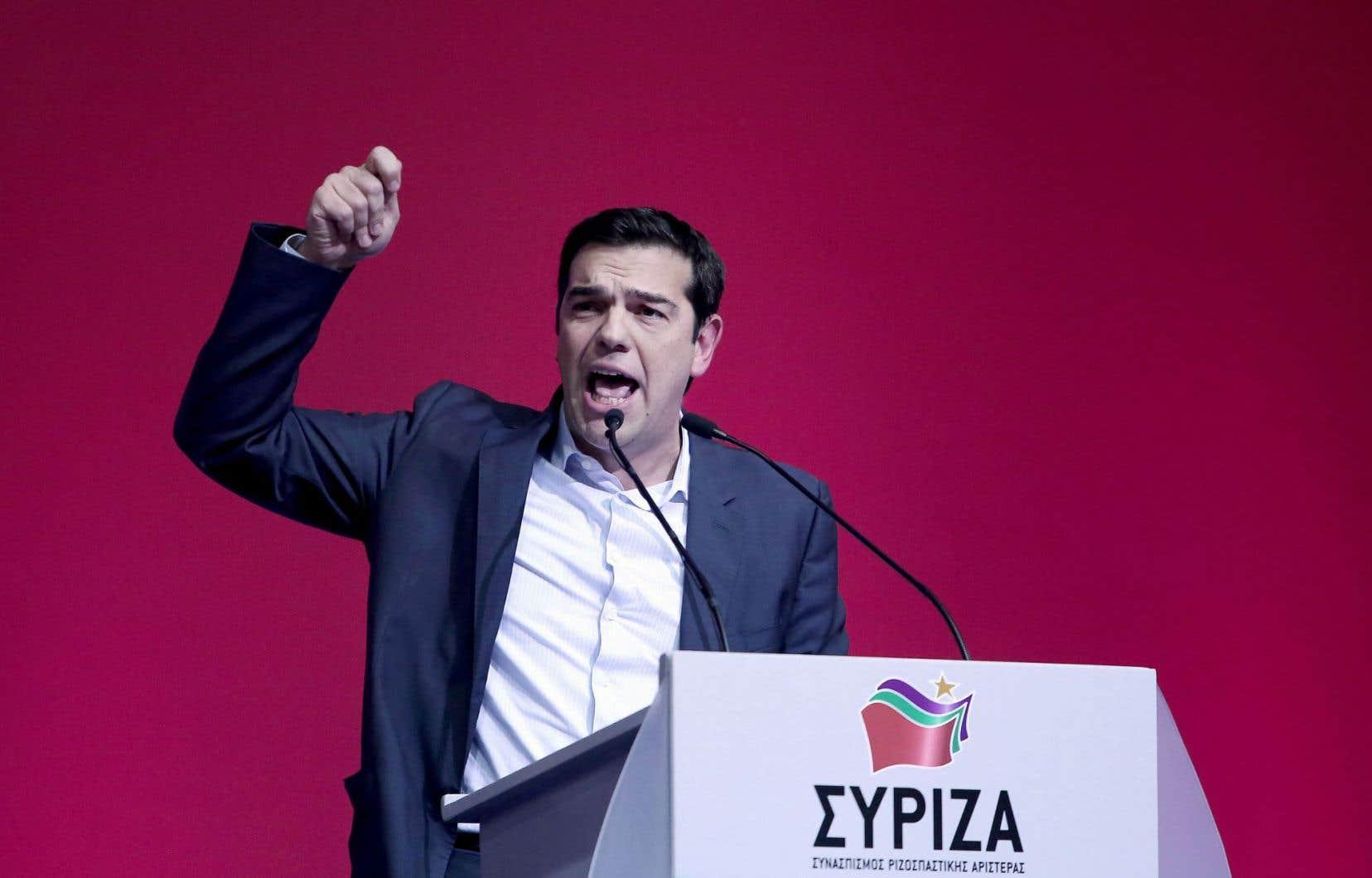 L'homme qui fait trembler les marchés: le chef du parti grec Syriza (gauche radicale), Alexis Tsipras, pourrait prendre le pouvoir avant la fin du mois.