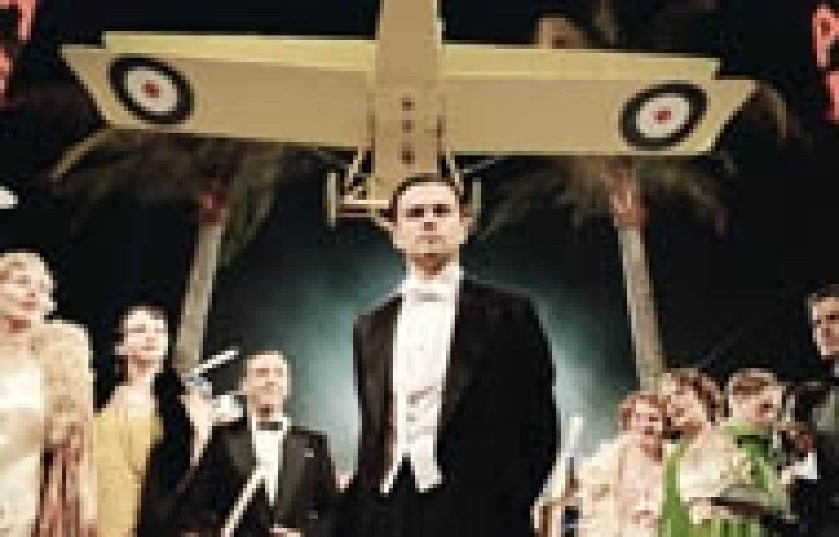 Source warner bros - Leonardo DiCaprio tient le rôle de Howard Hughes dans The Aviator, de Martin Scorsese.