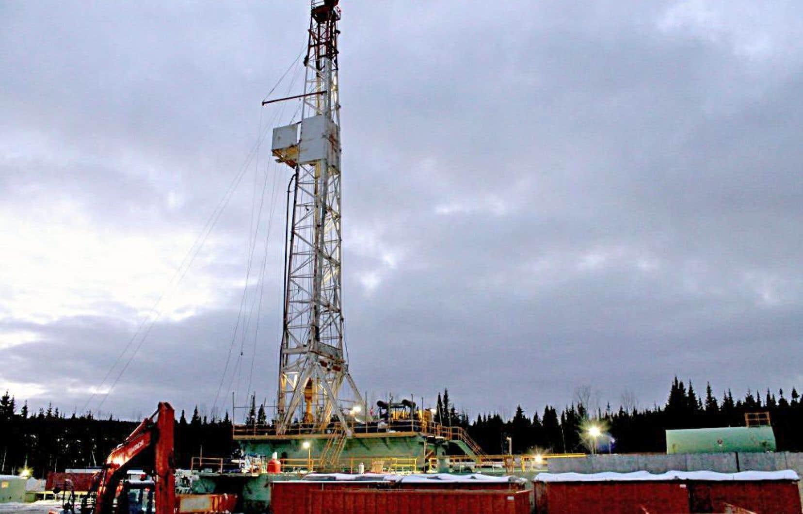 Le site Haldimand 4, à Gaspé, où Pétrolia vient de terminer un nouveau forage horizontal.