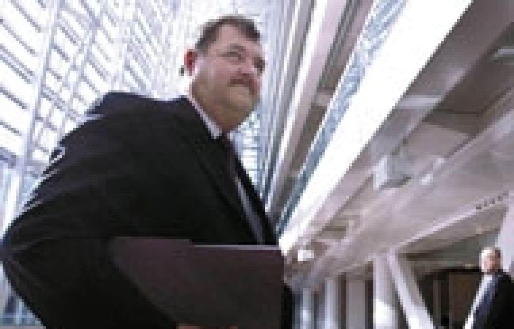 Le président de la Caisse de dépôt, Henri-Paul Rousseau, photographié aux bureaux montréalais de la CDP. L'organisme va désormais inclure ses commissions dirigés dans son budget d'exploitation par souci de transparence.