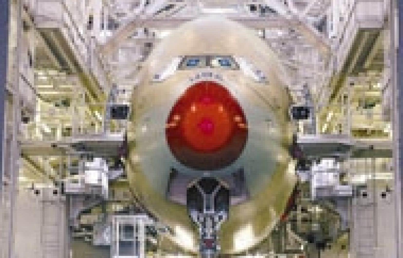 Le futur géant A380 au montage à Toulouse. Airbus a récemment laissé entendre qu'il avait conclu, avec une compagnie chinoise, un accord de principe portant sur l'acquisition de cinq de ces appareils.