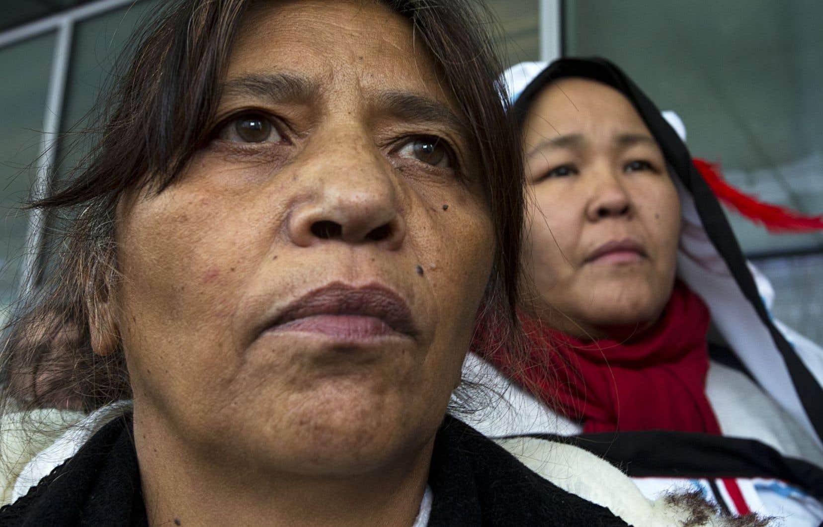 La CIDH recommande qu'Ottawa s'équipe d'un système pour répertorier les statistiques sur les cas de femmes autochtones assassinées ou disparues.