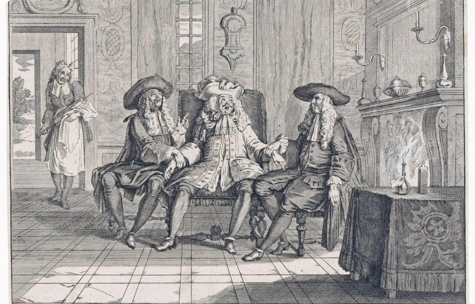 L'humour parfois grinçant de Molière ne manquait pas de critiquer les moeurs de la société pendant les grandes heures de la France sous Louis XIV.