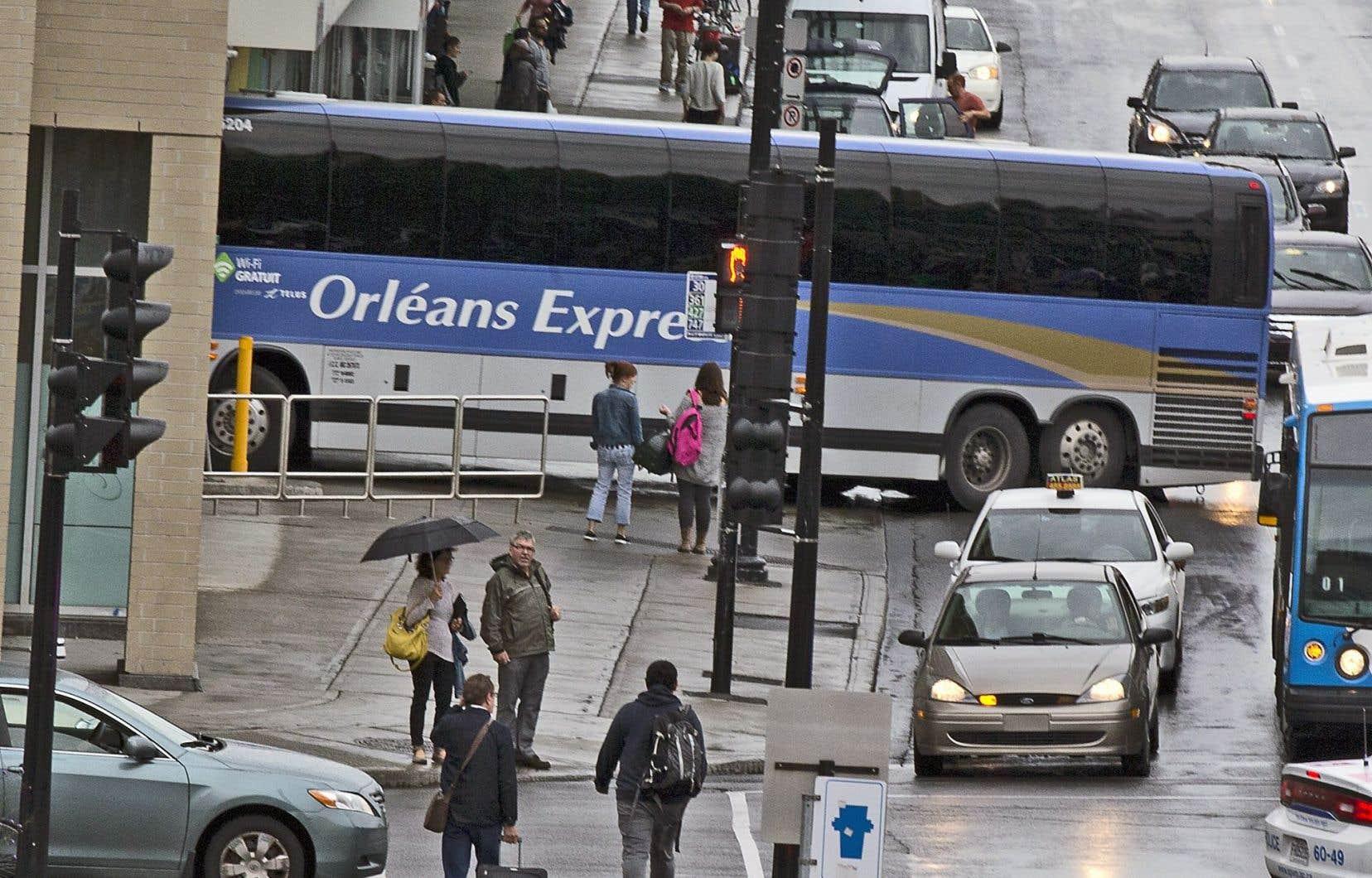 Orléans Express a diminué son offre de services en région afin de réduire ses pertes financières.