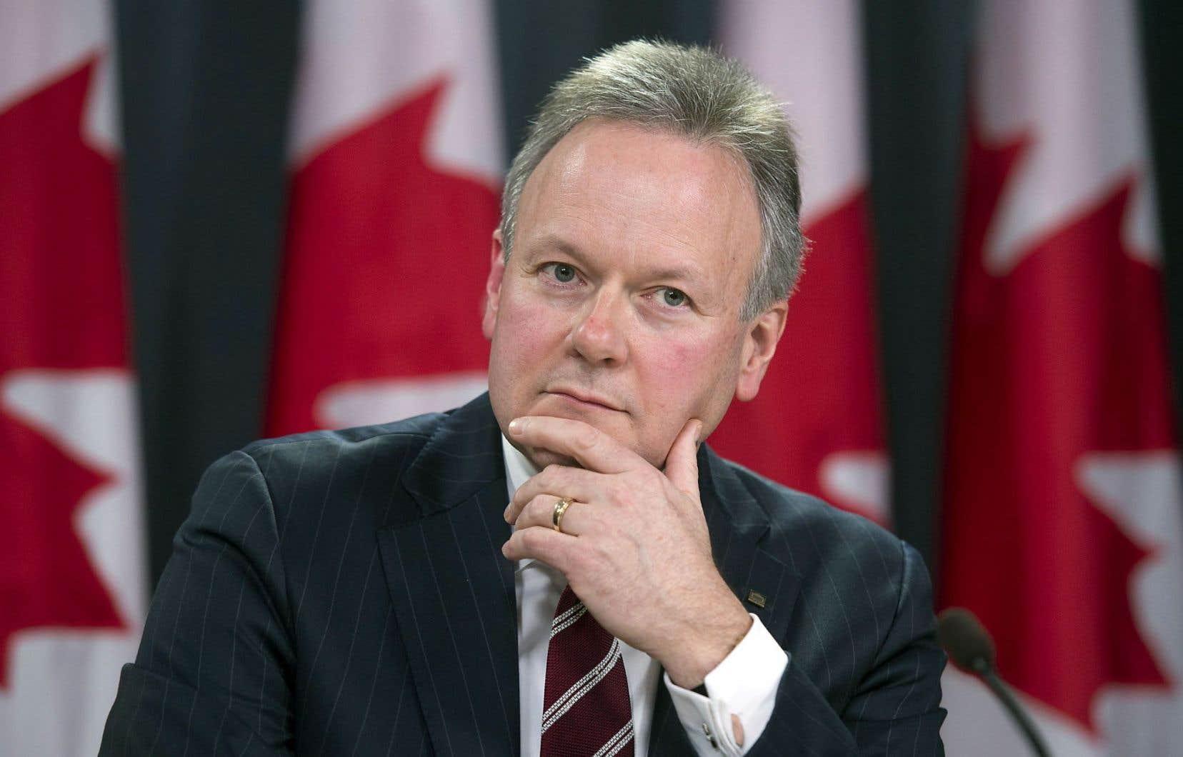 Stephen Poloz: «La chute des prix du pétrole a des conséquences clairement négatives pour l'économie canadienne.»