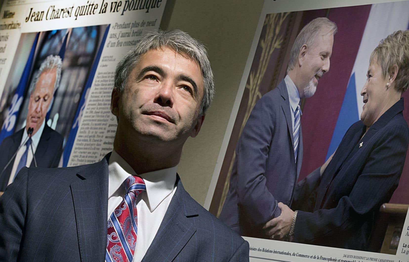 Le président de la CAQ, Stéphane Le Bouyonnec