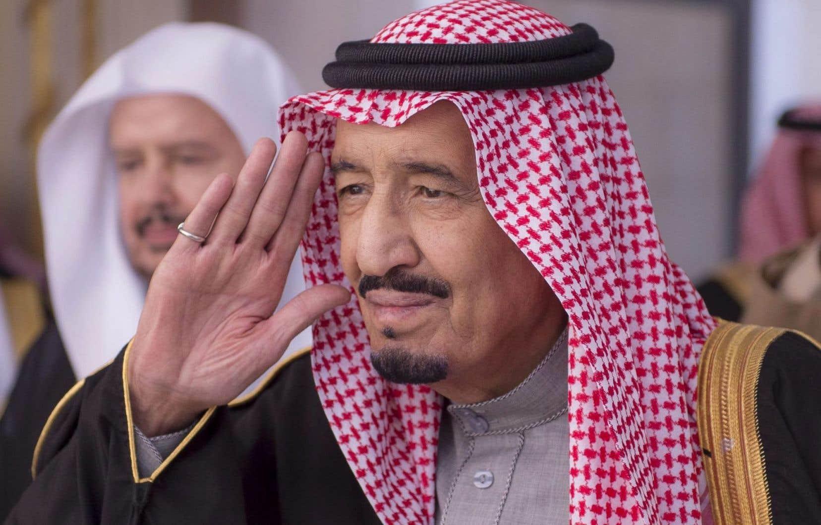 Le nouveau roi Salman d'Arabie saoudite