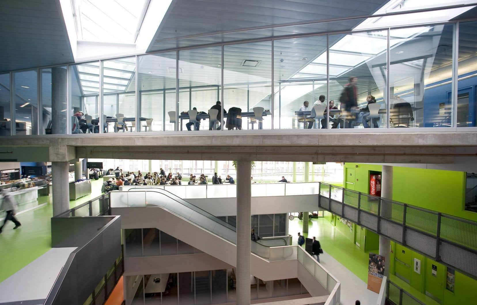 À l'automne 2014, Polytechnique accueillait 2040 étudiants étrangers (visas étudiant, visas diplomatiques et visiteurs) sur un total de 8082 étudiants.